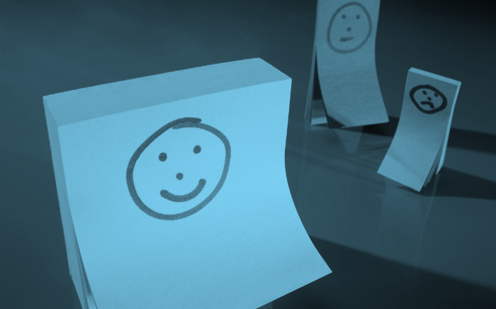 Post its mit Smileys